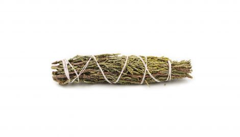 Juniper Smudging stick (L)- Crystal Dreams