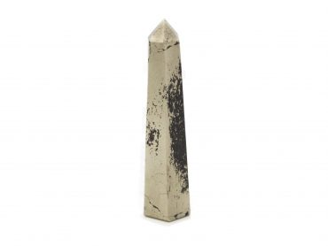 Pyrite Point Prism-Crystal Dreams