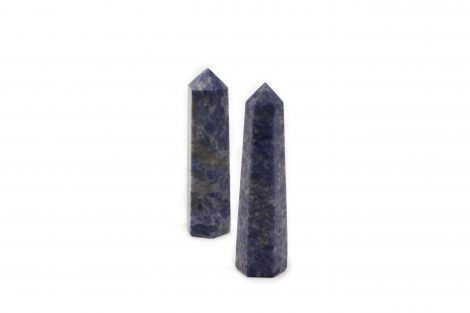 Sodalite Point Prism- Crystal Dreams