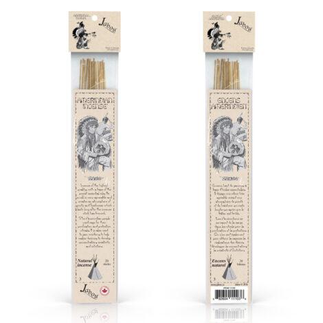 Amerindian Jabou Sage Incense - Crystal Dreams