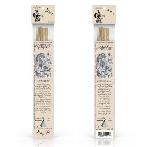 Amerindian Jabou Wild Fruit Incense - Crystal Dreams
