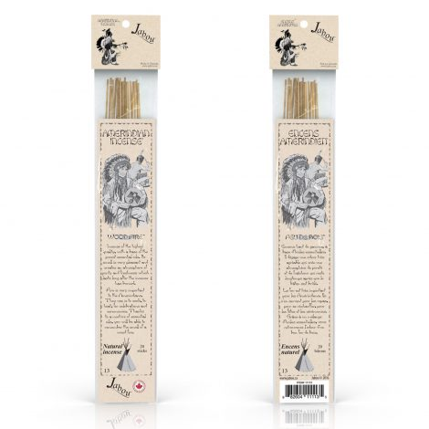 Amerindian Jabou Wood Fire Incense - Crystal Dreams