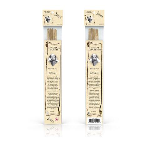 Ancestral Jabou Myrrh Incense - Crystal Dreams
