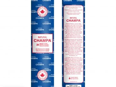 Natural Champa Incense - Crystal Dreams