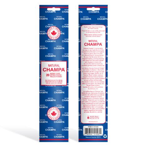 Natural Champa Incense - Crystal Dreams