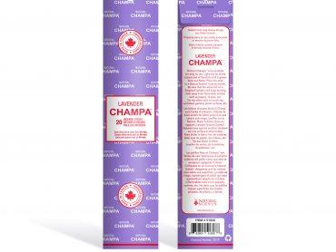 Lavender Champa Incense - Crystal Dreams