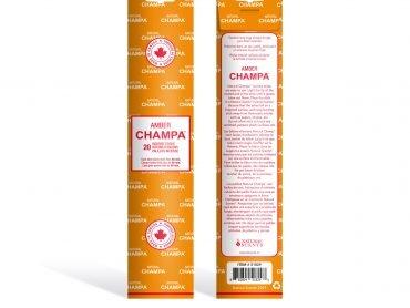 Amber Champa Incense - Crystal Dreams