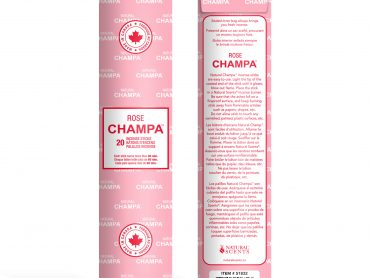 Rose Champa Incense - Crystal Dreams