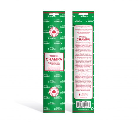 Patchouli Champa Incense - Crystal Dreams