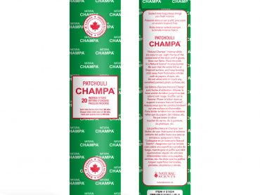 Patchouli Champa Incense - Crystal Dreams