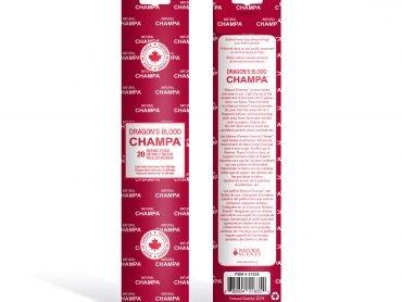 Dragons Blood Champa Incense - Crystal Dreams