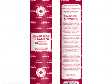 Dragons Blood Champa Incense - Crystal Dreams