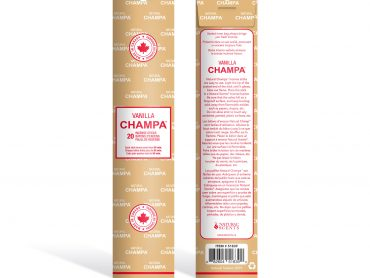 Vanilla Champa Incense - Crystal Dreams