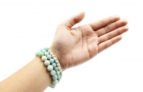 Amazonite bracelets _ Crystal Dreams