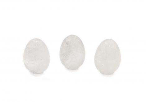 Clear Quartz Quartz claire Egg Oeuf - Crystal Dreams