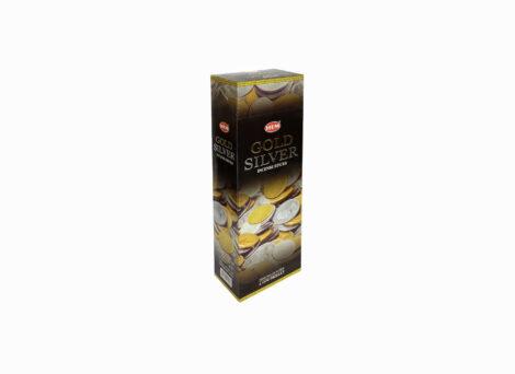 Hem Hexa Gold Silver Incense- Crystal Dreams