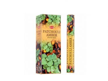 Hem Incense Patchouli Amber - Crystal Dreams