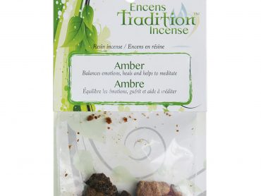 Resin Amber Incense Tradition - Crystal Dreams