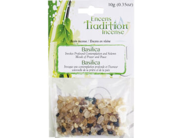 Resin Basilica Incense Tradition - Crystal Dreams