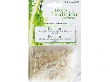 Resin Dammar Incense Tradition - Crystal Dreams