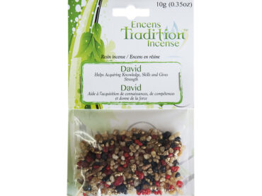 Resin David Incense Tradition - Crystal Dreams