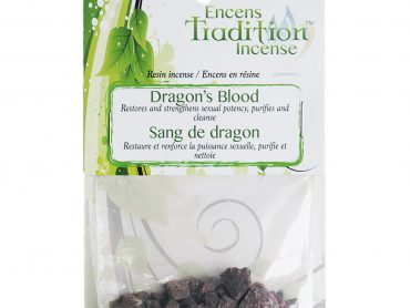 Resin Dragons Blood Incense Tradition - Crystal Dreams