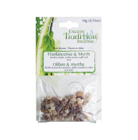 Resin Frankincense & Myrrh Incense Tradition - Crystal Dreams