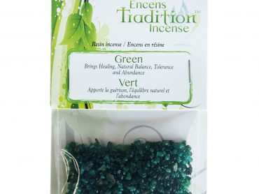 Resin Green Incense Tradition