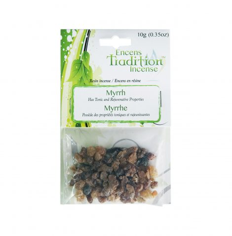 Resin Myrrh Incense Tradition - Crystal Dreams