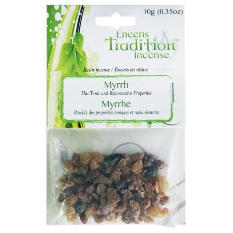 Resin Myrrh Incense Tradition - Crystal Dreams