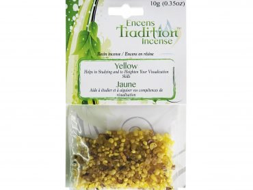 Resin Yellow Incense Tradition - Crystal Dreams