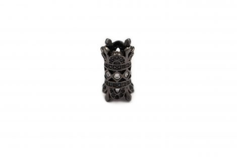 Charm - Double Crown Black - Crystal Dreams