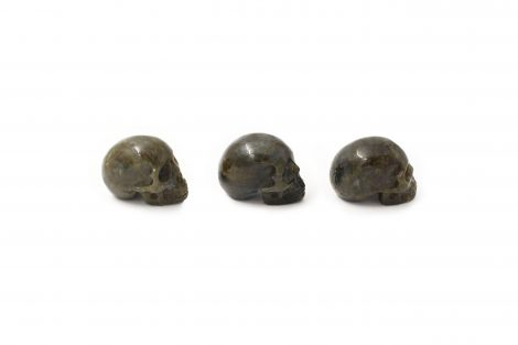 Labradorite Skull - Crystal Dreams