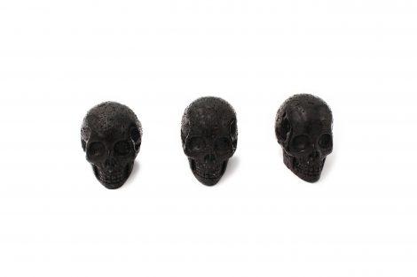 Lava Stone Skull - Crystal Dreams