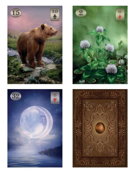 Thelema Lenormand Oracle Deck - Crystal Dreams