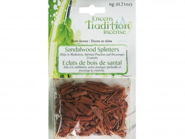 Resin Sandalwood Splinters Incense Tradition - Crystal Dreams