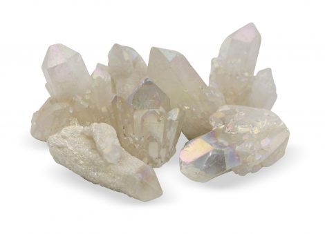 Aura Quartz Pineapple Druzy Cluster - Crystal Dreams