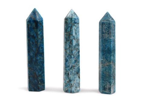 Blue Apatite Prism - Crystal Dreams