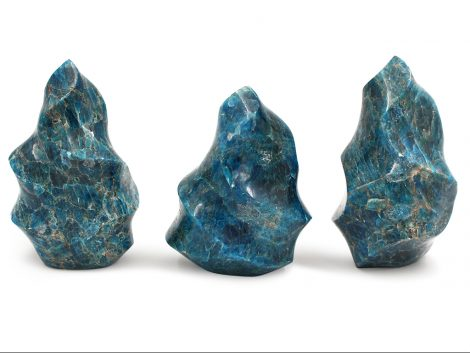 Blue Apatite Flame - Crystal Dreams