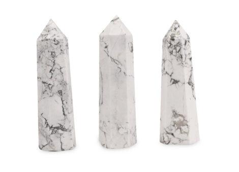 Howlite Prism - Crystal Dreams