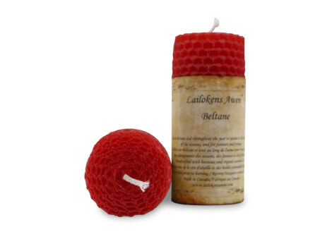 Altar Beltane Sabbat Candle-Crystal Dreams
