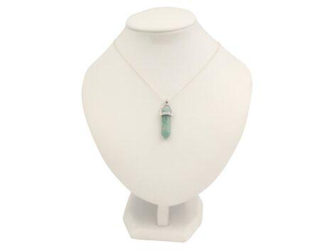 Amazonite Crystal Pendant