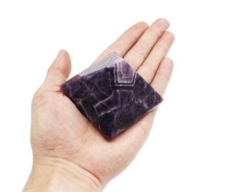 Amethyst Dream Chevron Pyramid - Crystal Dreams