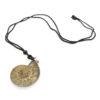 Ammonite Necklace Pendant - Crystal Dreams