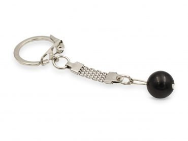 Shungite Sphere Keychain - Crystal Dreams