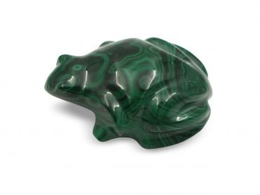 Malachite Animals Polished Frog - Crystal Dreams