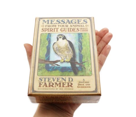 Messages from Your Animal Spirit - Oracle Cards _ Cartes de Oracles (Hand) - Crystal Dream