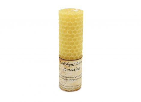Protection Spell Candle - Crystal Dreams