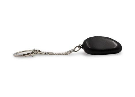 Shungite Pebble Keychain - Crystal Dreams