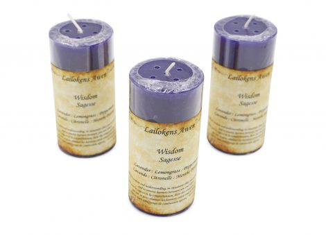 Wisdom Spell Candle - Crystal Dreams
